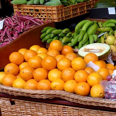 Etalage fruits
